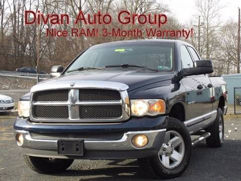 2002 Dodge Ram Pickup 1500 for sale at Divan Auto Group in Feasterville PA