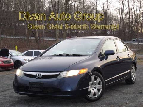 2008 Honda Civic for sale at Divan Auto Group in Feasterville PA