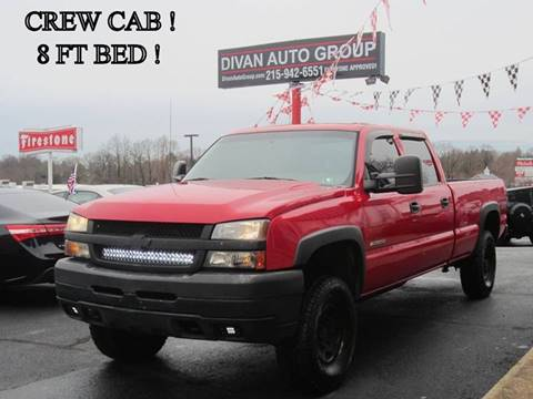 2005 Chevrolet Silverado 2500HD for sale at Divan Auto Group in Feasterville PA