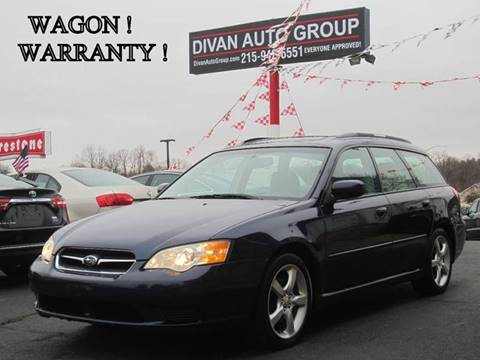 2007 Subaru Legacy for sale at Divan Auto Group in Feasterville PA