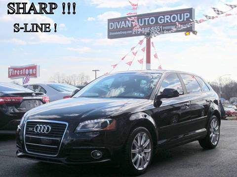 2010 Audi A3 for sale at Divan Auto Group in Feasterville PA