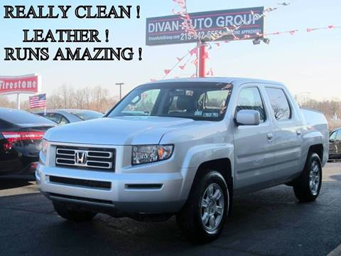 2007 Honda Ridgeline for sale at Divan Auto Group in Feasterville PA
