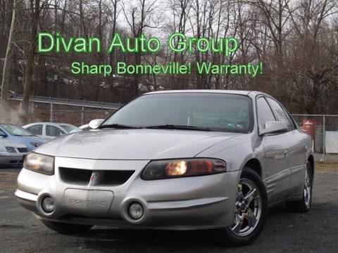2004 Pontiac Bonneville for sale at Divan Auto Group in Feasterville PA