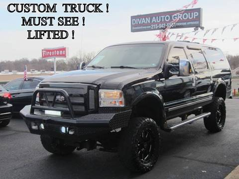 2005 Ford Excursion for sale at Divan Auto Group in Feasterville PA