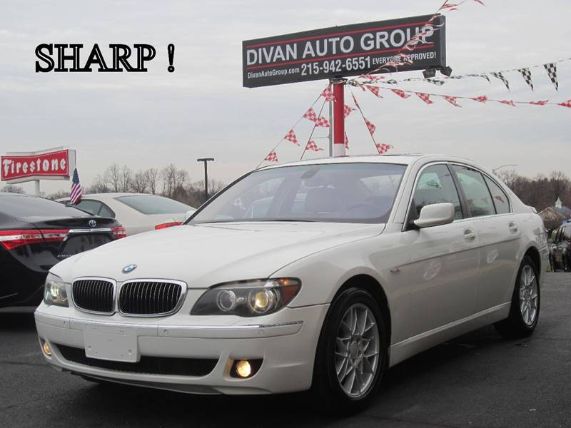 2006 Bmw 7 Series 750i 4dr Sedan In Feasterville Pa Divan Auto Group
