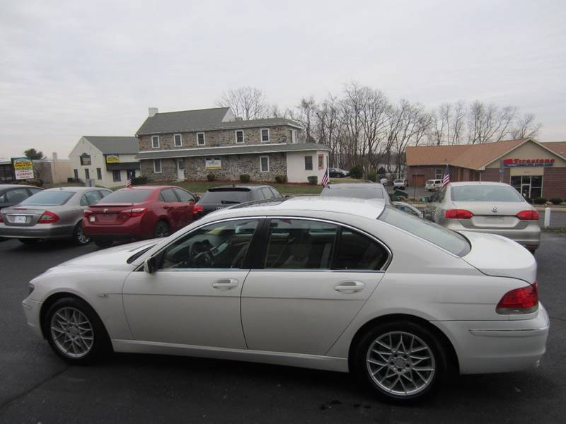 2006 Bmw 7 Series 750i 4dr Sedan In Feasterville PA