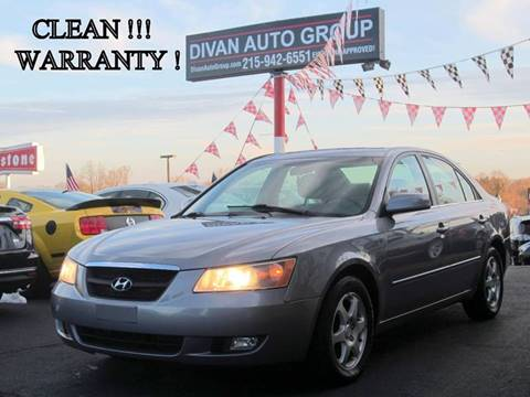 2006 Hyundai Sonata for sale at Divan Auto Group in Feasterville PA