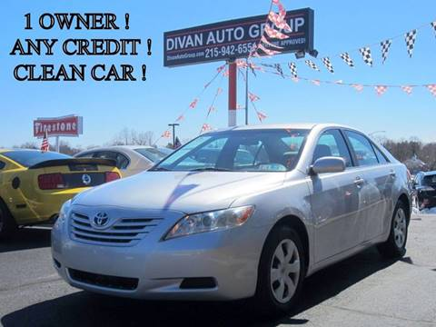 2009 Toyota Camry for sale at Divan Auto Group in Feasterville PA