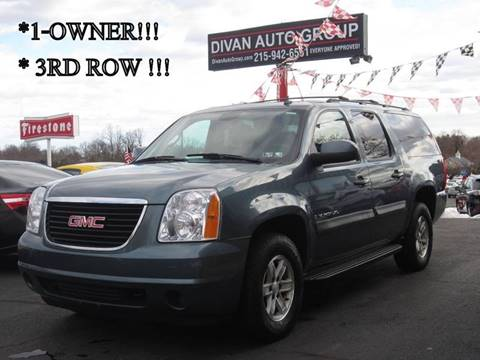 2009 GMC Yukon XL for sale at Divan Auto Group in Feasterville PA