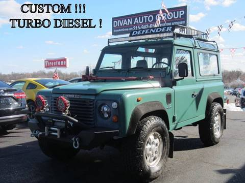1988 Land Rover Defender for sale at Divan Auto Group in Feasterville PA