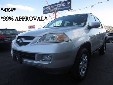 2006 Acura MDX for sale at Divan Auto Group in Feasterville PA