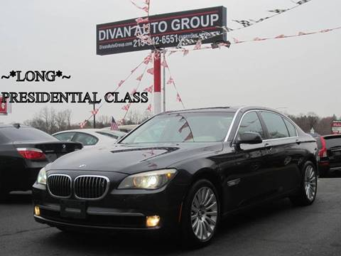 2009 BMW 7 Series for sale at Divan Auto Group in Feasterville PA