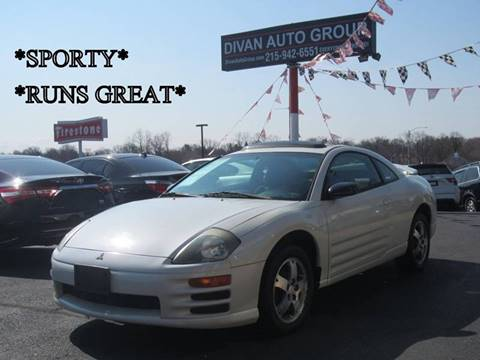 2001 Mitsubishi Eclipse for sale at Divan Auto Group in Feasterville PA