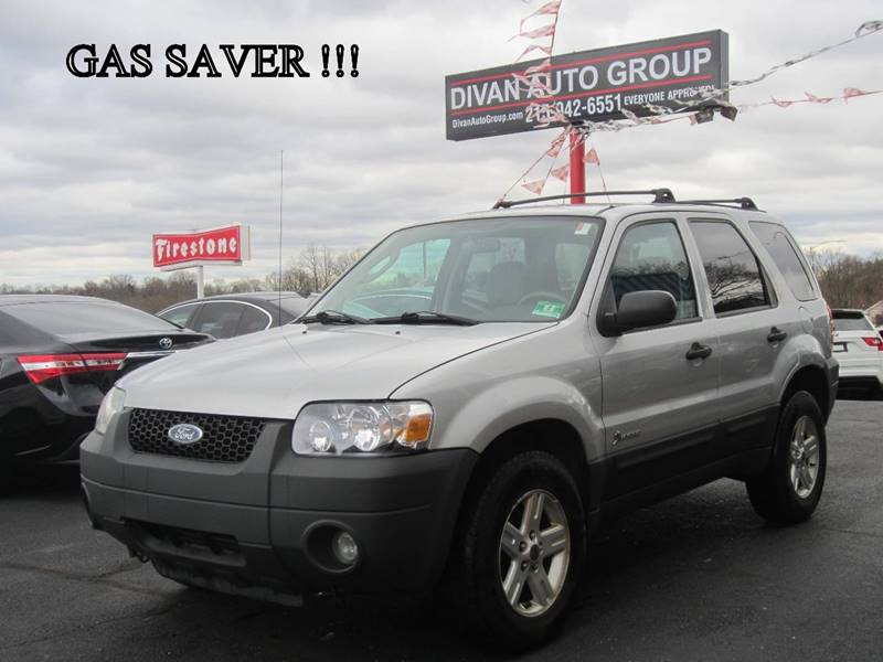 2005 Ford Escape Hybrid 4dr Suv In Feasterville Pa Divan Auto Group