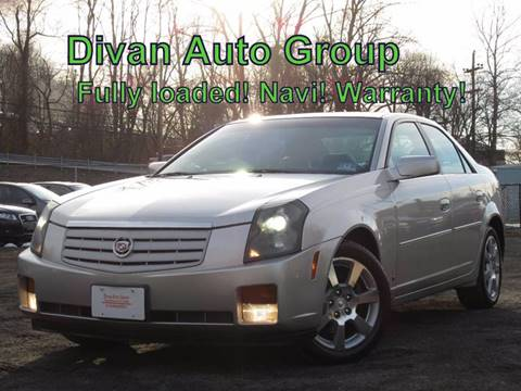 2006 Cadillac CTS for sale at Divan Auto Group in Feasterville PA