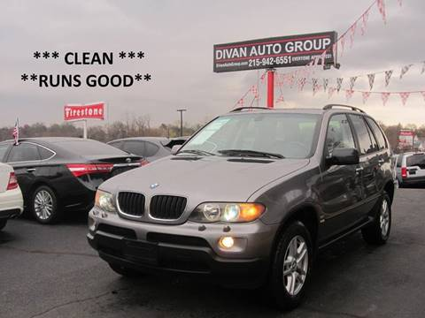 2004 BMW X5 for sale at Divan Auto Group in Feasterville Trevose PA