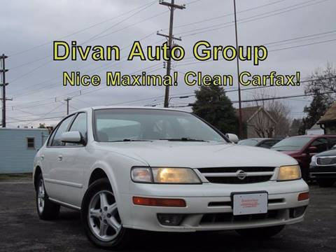 1999 Nissan Maxima for sale at Divan Auto Group in Feasterville PA