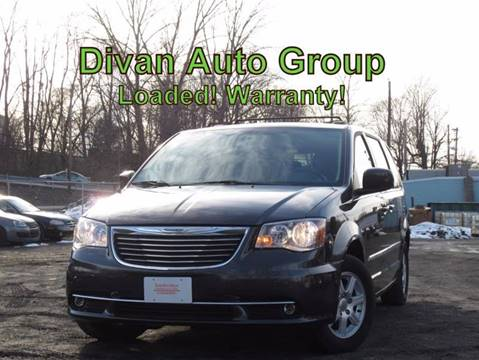 2012 Chrysler Town and Country for sale at Divan Auto Group in Feasterville PA