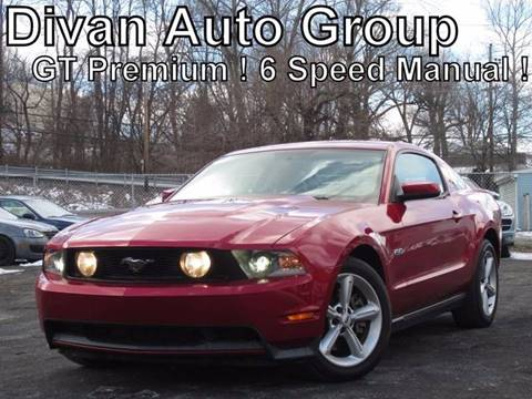 2011 Ford Mustang for sale at Divan Auto Group in Feasterville PA