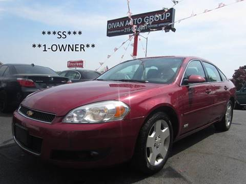 2006 Chevrolet Impala for sale at Divan Auto Group in Feasterville PA