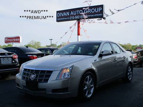2009 Cadillac CTS for sale at Divan Auto Group in Feasterville PA