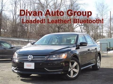 2013 Volkswagen Passat for sale at Divan Auto Group in Feasterville PA