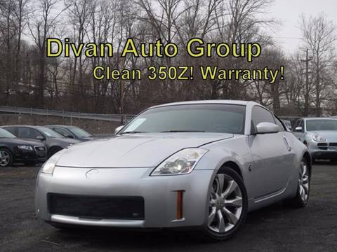 2006 Nissan 350Z for sale at Divan Auto Group in Feasterville PA