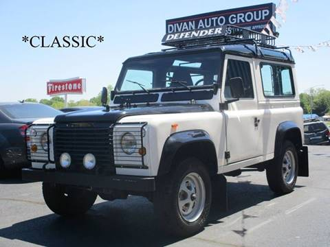 1986 Land Rover Defender for sale at Divan Auto Group in Feasterville Trevose PA