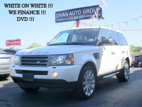 2007 Land Rover Range Rover Sport for sale at Divan Auto Group in Feasterville PA