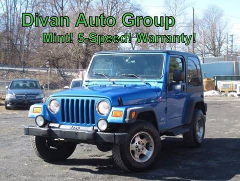 2003 Jeep Wrangler for sale at Divan Auto Group in Feasterville PA