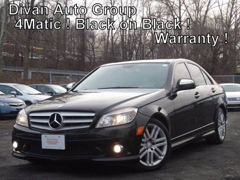 2009 Mercedes-Benz C-Class for sale at Divan Auto Group in Feasterville PA