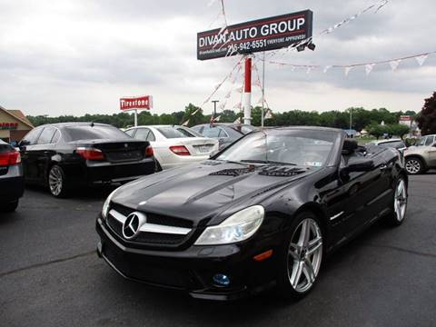 2009 Mercedes-Benz SL-Class for sale at Divan Auto Group in Feasterville PA