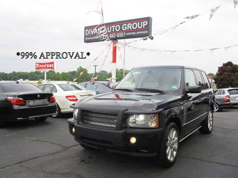 2007 Land Rover Range Rover for sale at Divan Auto Group in Feasterville PA