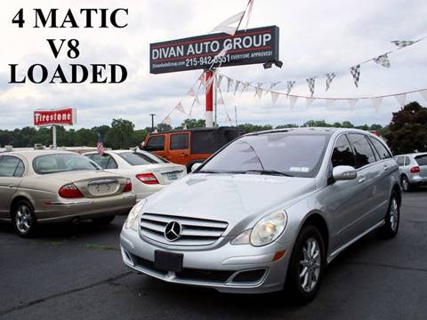 2006 Mercedes-Benz R-Class for sale at Divan Auto Group in Feasterville PA