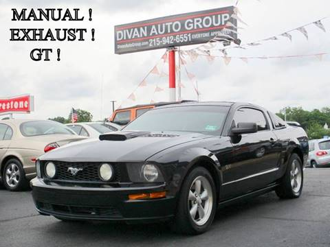 2008 Ford Mustang for sale at Divan Auto Group in Feasterville PA