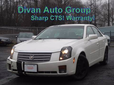 2004 Cadillac CTS for sale at Divan Auto Group in Feasterville Trevose PA