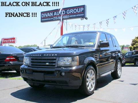 2006 Land Rover Range Rover Sport for sale in Feasterville, PA