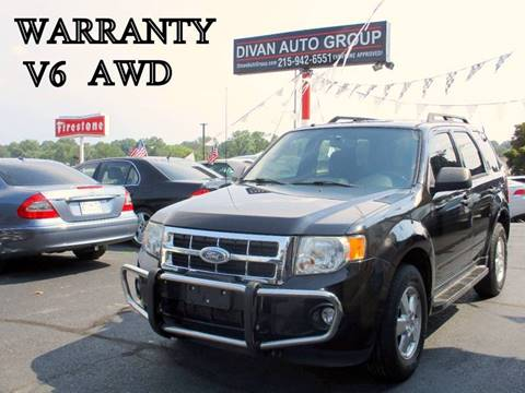 2011 Ford Escape for sale at Divan Auto Group in Feasterville PA