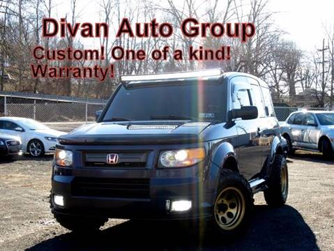 2008 Honda Element for sale at Divan Auto Group in Feasterville PA