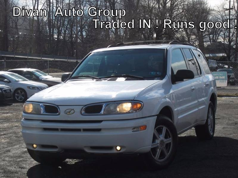 2002 Oldsmobile Bravada for sale at Divan Auto Group in Feasterville PA
