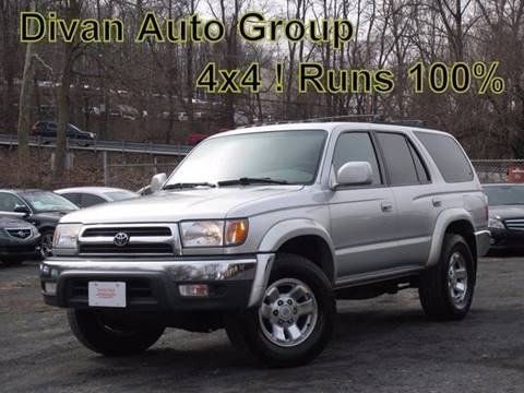 2000 Toyota 4Runner for sale at Divan Auto Group in Feasterville PA