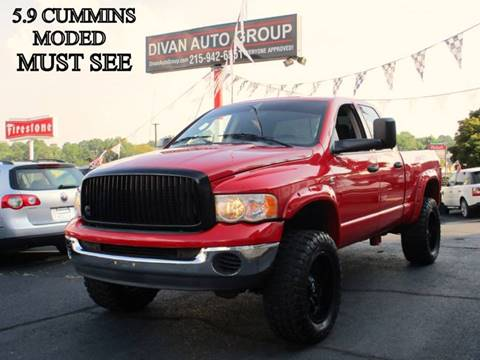 2005 Dodge Ram Pickup 2500 for sale at Divan Auto Group in Feasterville PA