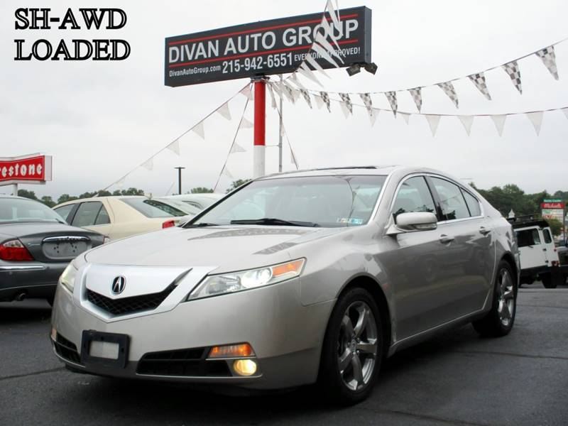 2009 Acura TL for sale at Divan Auto Group in Feasterville PA