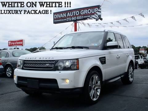 2012 Land Rover Range Rover Sport for sale at Divan Auto Group in Feasterville PA