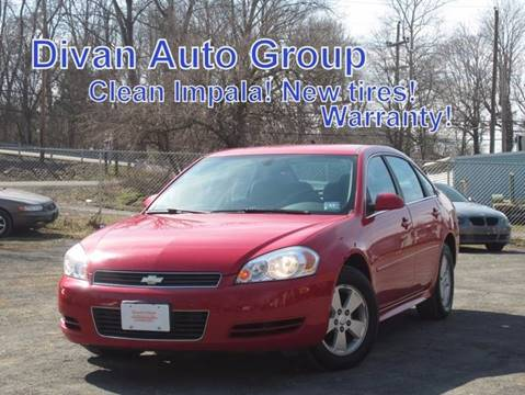 2009 Chevrolet Impala for sale at Divan Auto Group in Feasterville Trevose PA