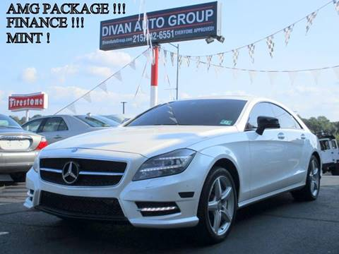 2012 Mercedes-Benz CLS for sale at Divan Auto Group in Feasterville PA