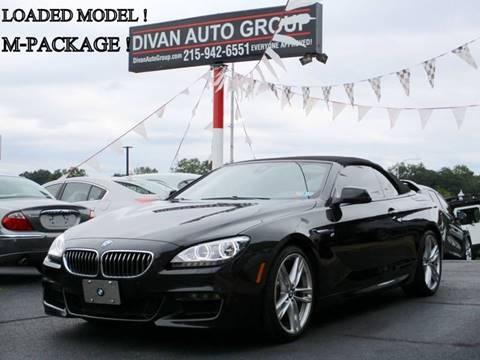 2015 BMW 6 Series for sale at Divan Auto Group in Feasterville Trevose PA