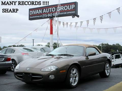 2001 Jaguar XK-Series for sale at Divan Auto Group in Feasterville PA