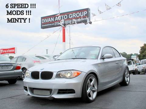 2009 BMW 1 Series for sale at Divan Auto Group in Feasterville PA