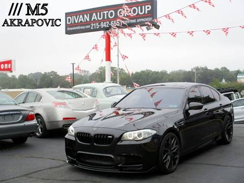 2013 BMW M5 for sale at Divan Auto Group in Feasterville PA